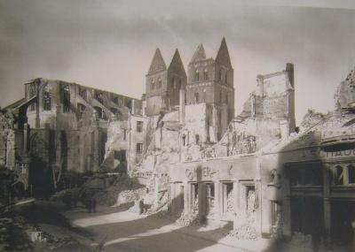 Любек после бомбардировки
