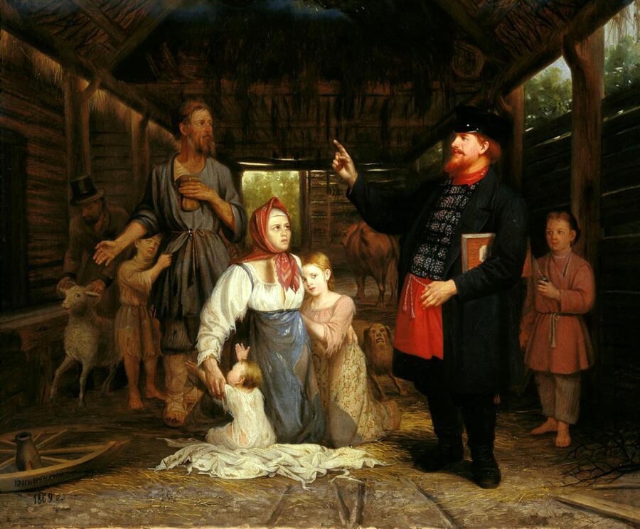 И. Л. Горохов, «Сбор недоимок»