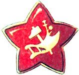 Значок-кокарда образца 1918 года
