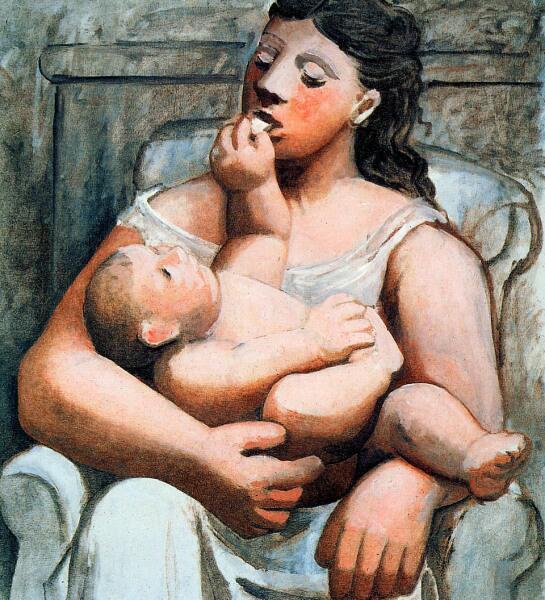 Пабло Пикассо, «Материнство», 1921 г.