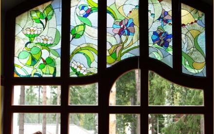 Оригинальный дизайн окна