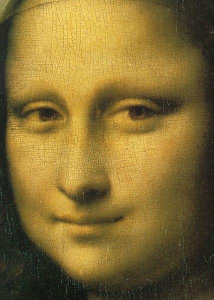 Леонардо да Винчи, «Мона Лиза», фрагмент, 1504 г.