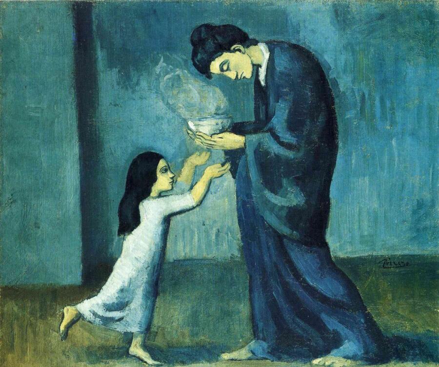 Пабло Пикассо, «Суп», 1902 г.