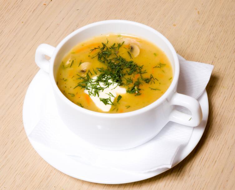 Как приготовить вкусный суп из пакетика?