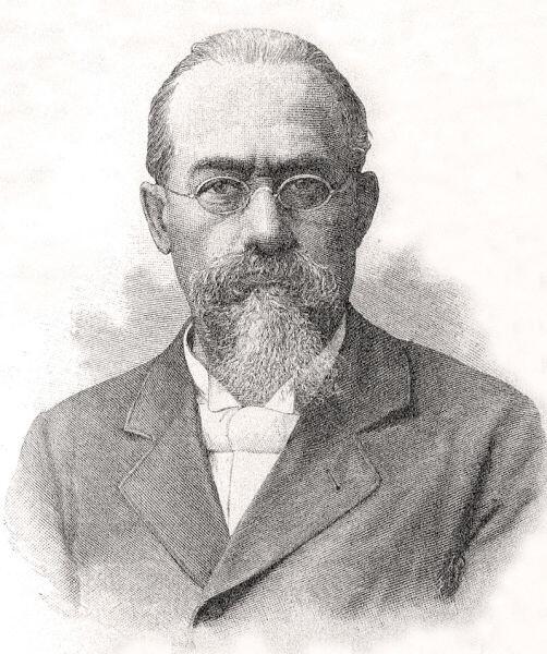 Портрет Чезаре Ломброзо