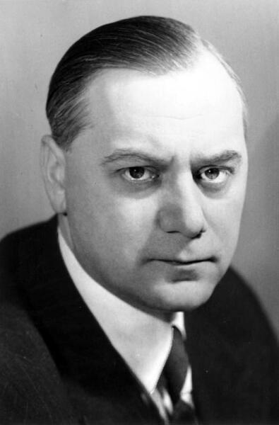 Альфред Розенберг, считается автором ключевых понятий нацистской идеологии. Январь 1941 года