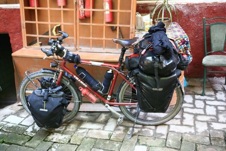 Верный спутник велотуриста