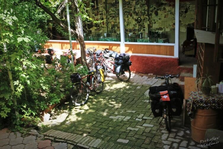 Международный велопарк нашего хостела