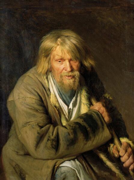 И. Н. Крамской, «Портрет старого крестьянина», 1872 г.