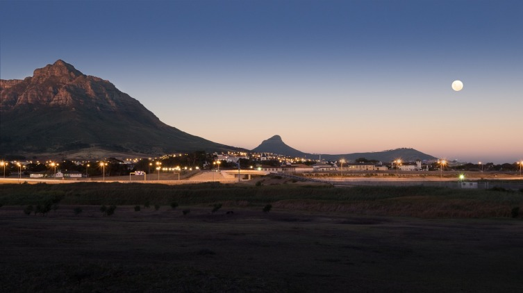 Закат в Кейптауне