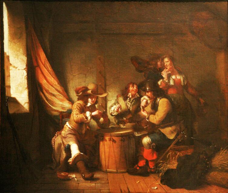 Гербранд Ван ден Экхоут, «Караулка», 1654 г.