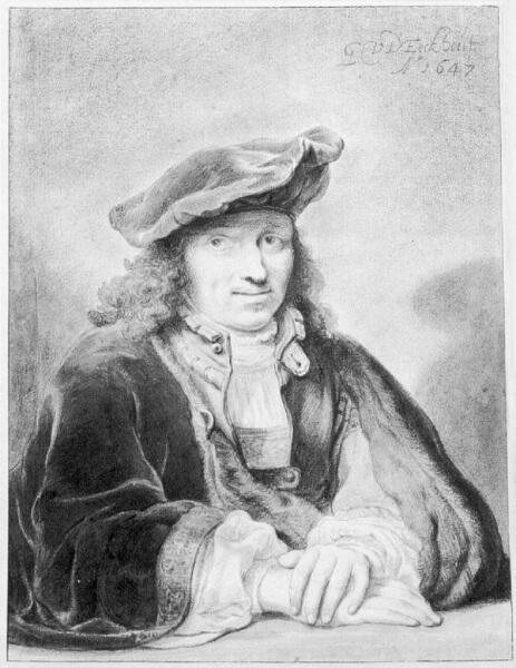 Гербранд Ван ден Экхоут, «Автопортрет в возрасте 26 лет», 1647 г.