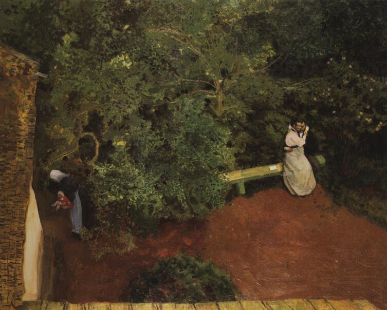 К. А. Сомов, «Семейное счастье», 1890-е гг.