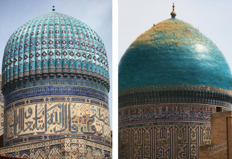 Купола мечети Биби-Ханум