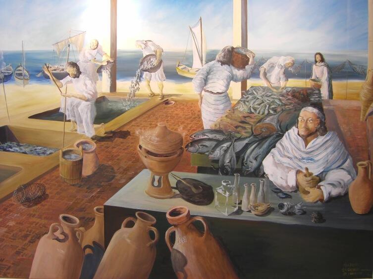 «Торговцы гарумом в Набуле»