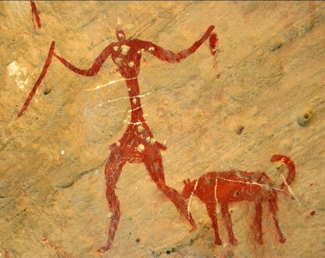 Наскальная живопись в Ливии