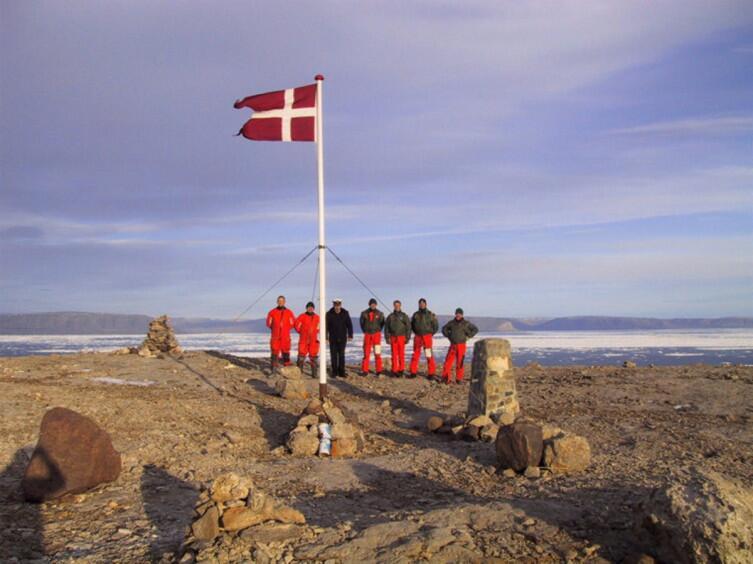 Датчане на острове Ганса