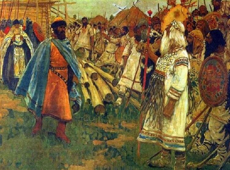 С. В. Иванов, «Христиане и язычники»