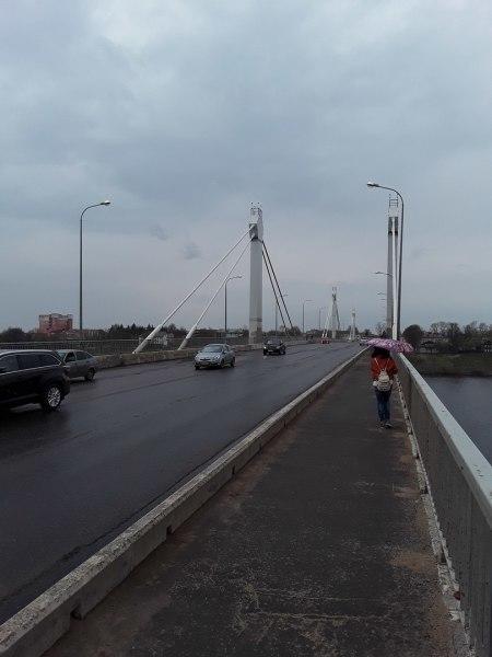 Савеловский мост в Кимрах