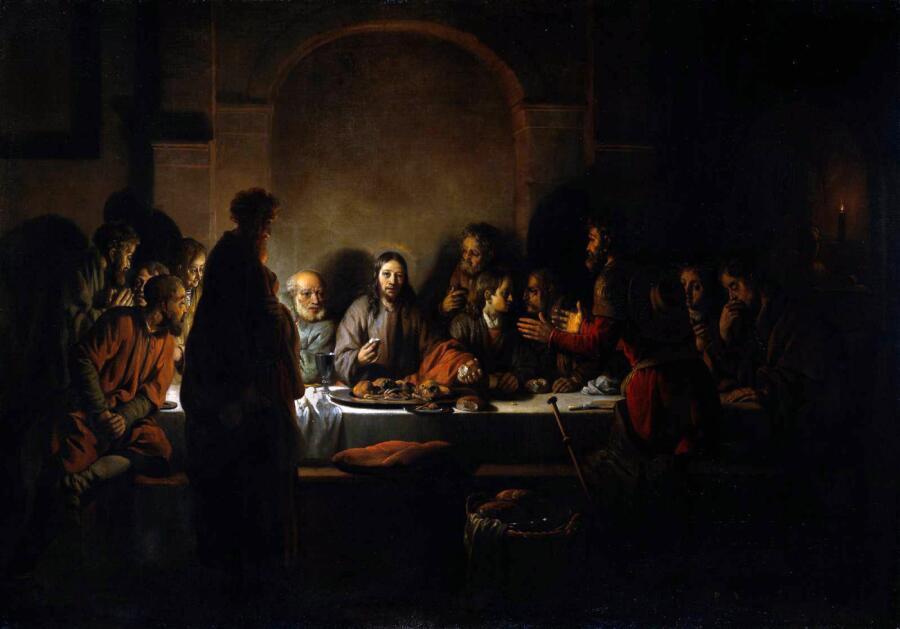 Гербранд Ван ден Экхоут, «Тайная вечеря»