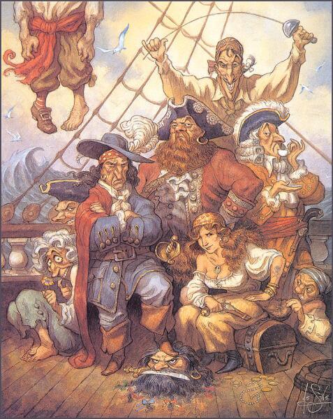 Питер де Сев, «Пираты»