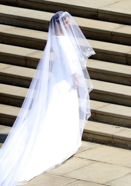 Меган Маркл и ее свадебное платье