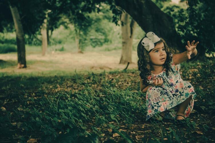 Обычно детям до 5 лет интересно все вокруг и страха они не испытывают