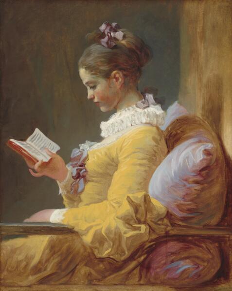 Жан Оноре Фрагонар, «Читающая девушка», 1770-е гг.