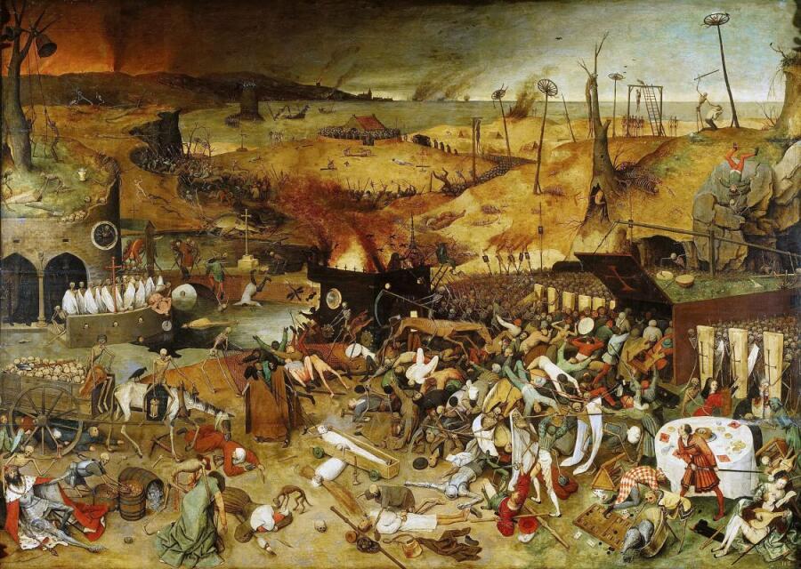 Питер Брейгель Старший, «Триумф смерти», 1563 г.