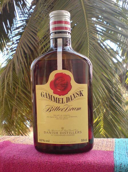 Датский национальный напиток «Gammel Dansk»