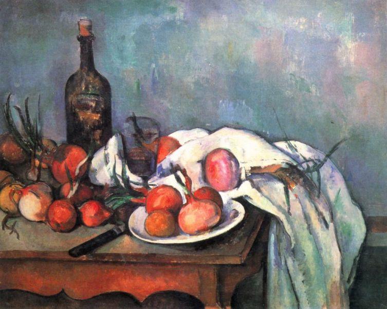 Поль Сезанн, «Натюрморт с луком», 1898 г.