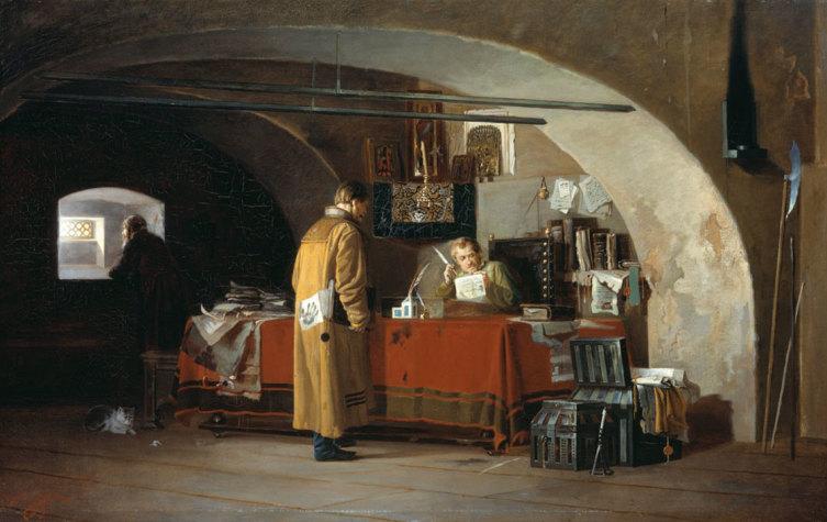 А. С. Янов, «Приказ в Москве», 1880-е гг.