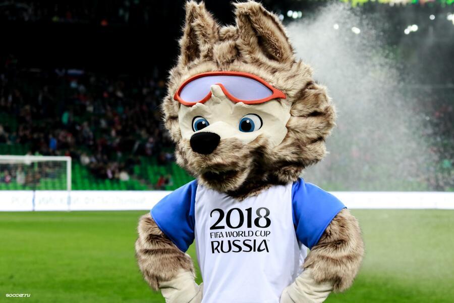 Волк Забивалик - символ Чемпионата мира по футболу-2018