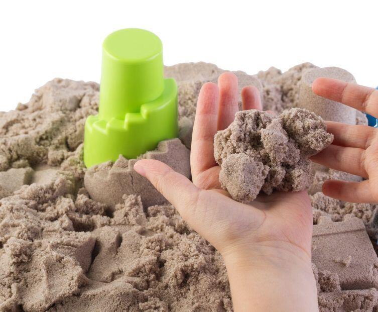 Новинки игрушечного мира. Что такое кинетический песок?