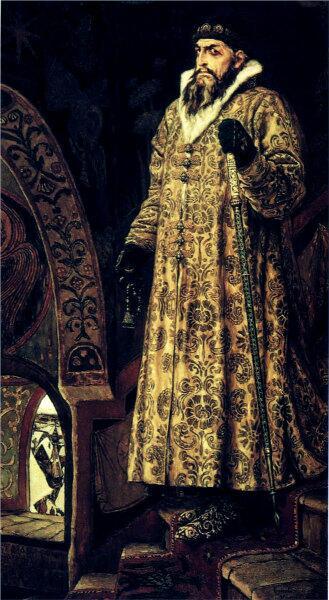 В. М. Васнецов, «Царь Иван Васильевич Грозный», 1897 г.