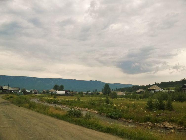 Село Тюлюк и Хребет Зигальга