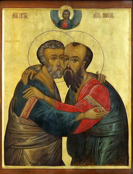 Святые апостолы Павел и Петр