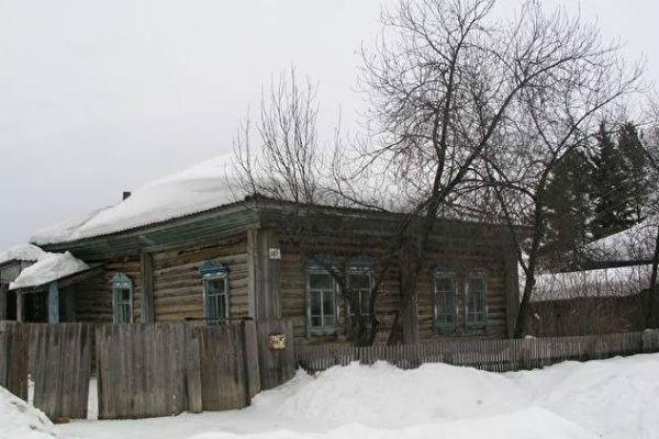 Дом в Кыштовке, который выделили Мартенсам