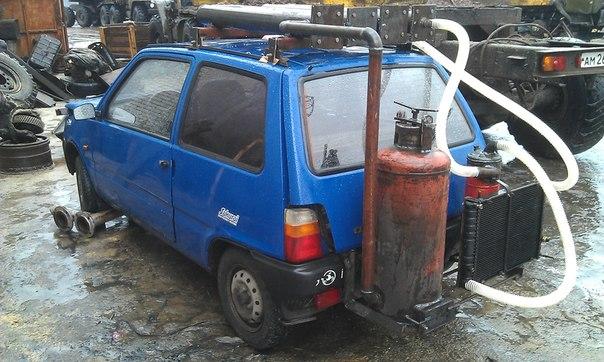 Может ли автомобиль работать на дровах?