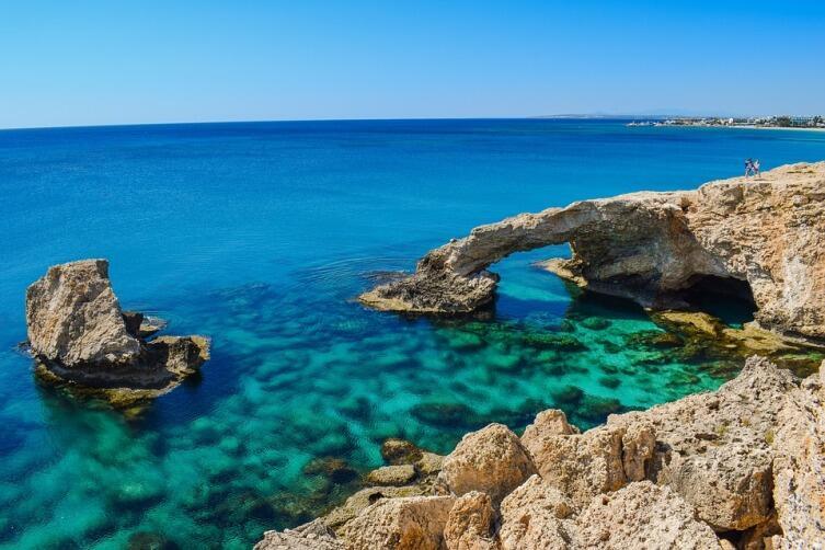 Айия-Напа, Мост влюбленных, Кипр
