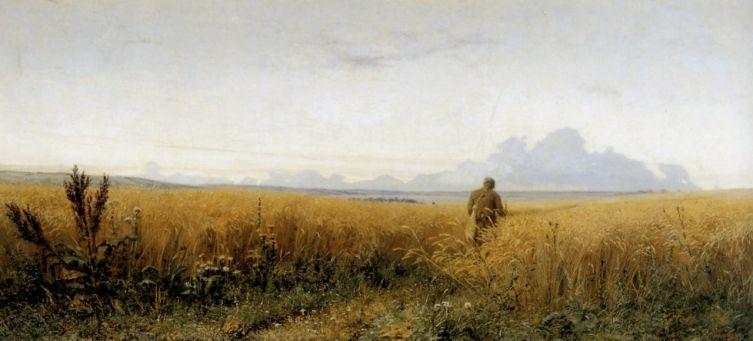 Г. Г. Мясоедов, «Дорога во ржи», 1881 г.