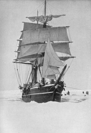 Экспедиционное судно — барк «Терра Нова»