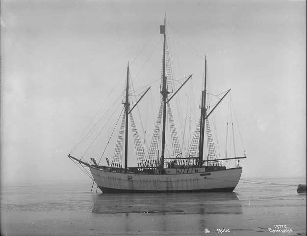 Корабль «Мод» в море 7 марта 1918 года