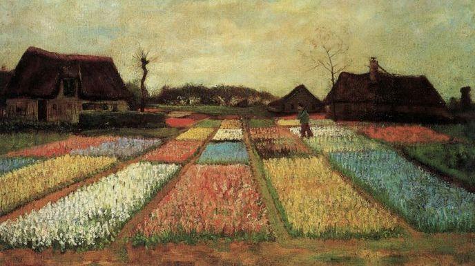 Винсент ван Гог, «Луковичные поля»