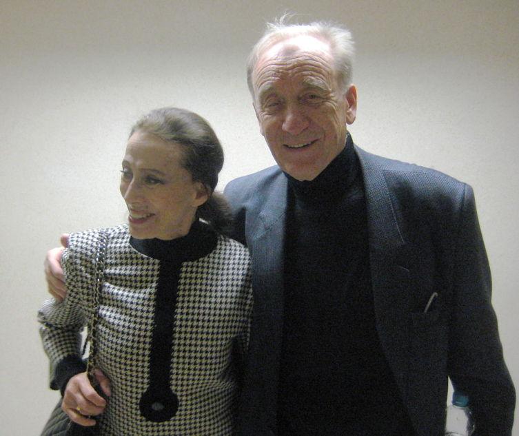 Майя Плисецкая и Родион Щедрин, 2009 год