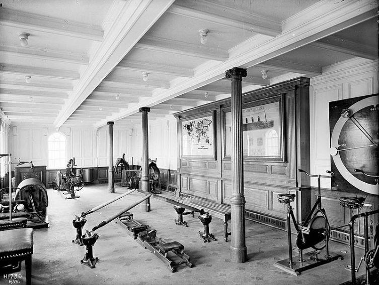 Спортивный зал на