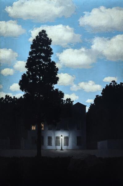 Рене Магритт, «Империя света», 1954 г.