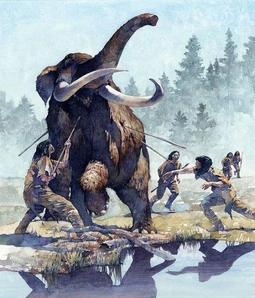 Greg Harlin, «Охота на мамонта»