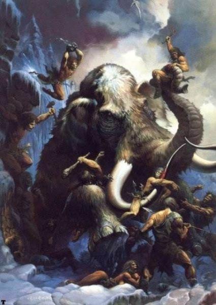 Кен Келли, «Охота на мамонта»