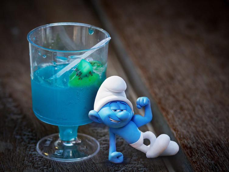 Желе «Голубая лагуна»